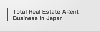 Total Real Estate Agent Business in Japan
